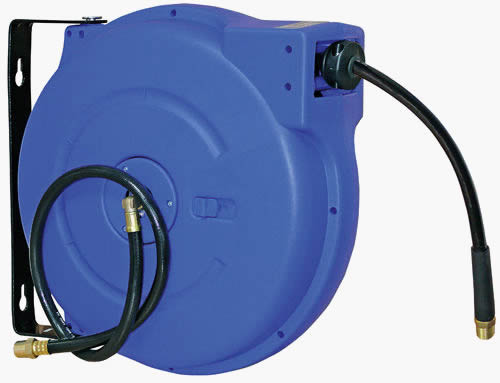 Spring And Manual Rewind Air Hose Reel Widely Used For Garages